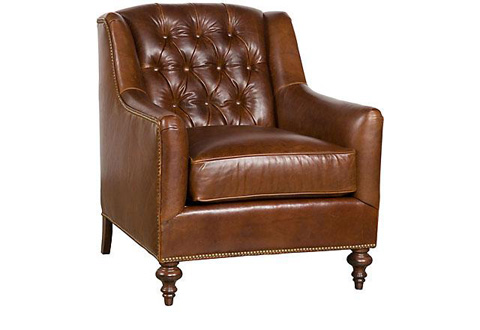 King Hickory - Valhalla Leather Chair - C15-01-L