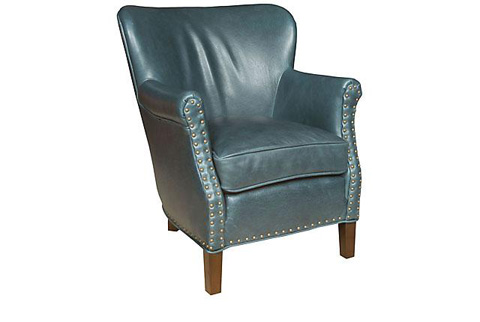 King Hickory - Fleming Leather Chair - C27-01-L