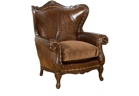 King Hickory - Isabella Chair - W-681-LF