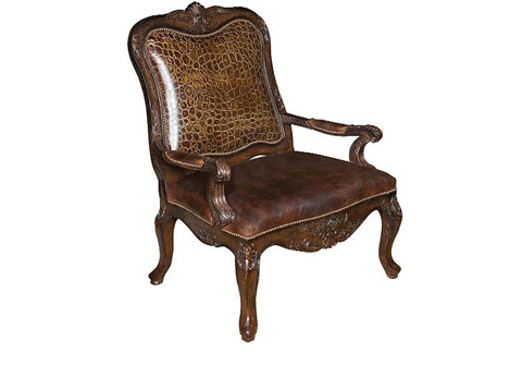 King Hickory - Padrone Chair - W-881-L