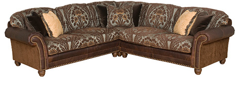 King Hickory - Katherine Upholstered Sectional - KATHERINE SECTIONAL-LF