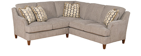 King Hickory - 2 Piece Melrose Sectional - MELROSE SECTIONAL