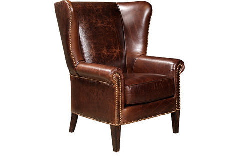 King Hickory - Sedgefield Leather Chair - 0281-L