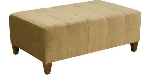 King Hickory - Chicago Fabric Upholstered Ottoman - 0888
