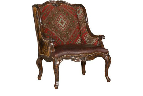 King Hickory - Rio Grande Chair with Wood Frame - W-591