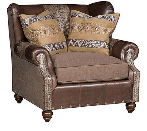 King Hickory - Lucy Leather Fabric Chair - 5201-LF