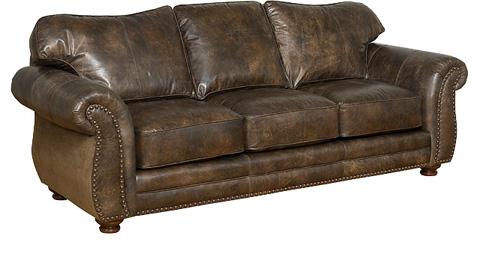 King Hickory - Santana Leather Sofa - 8000-L