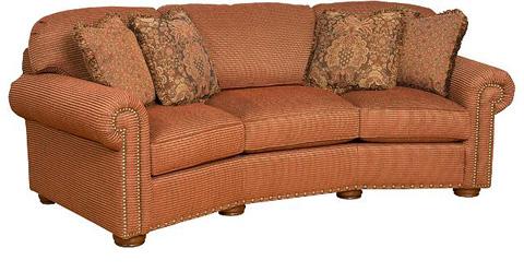 King Hickory - Ricardo Fabric Conversation Sofa - 9965
