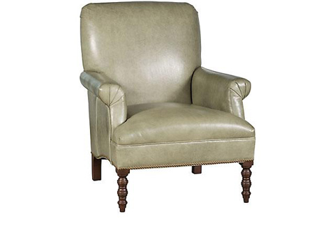 King Hickory - Sarah Leather Chair - C25-01-L
