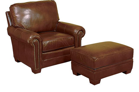 King Hickory - Candice Chair and Ottoman - 8601/8608