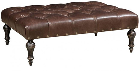 King Hickory - Turkish Leather Ottoman - W-016-3648-L