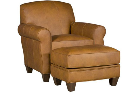 King Hickory - Robinson Leather Chair - C42-01-L