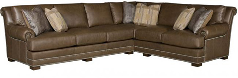 King Hickory - Barclay Sectional - BARCLAY SECTIONAL