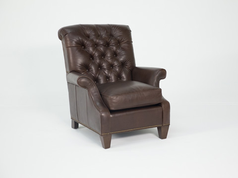Image of Prestwick Leather Chair