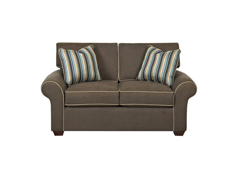 Klaussner Home Furnishings - Patterns Loveseat - 19000L S