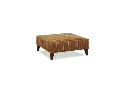 Klaussner Home Furnishings - Squared Ottoman - 239M OTTO