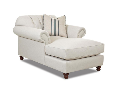 Klaussner Home Furnishings - Flynn Chaise - D90910P CHASE