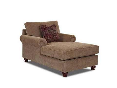 Klaussner Home Furnishings - Greenvale Chaise - K73500 CHASE