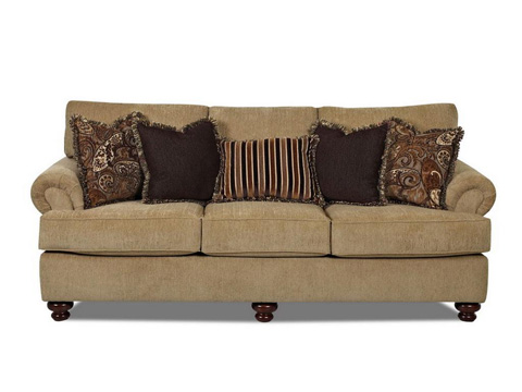 Klaussner Home Furnishings - Greenvale Sofa - K73500 S