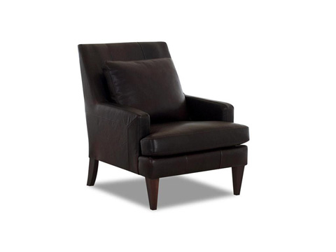 Klaussner Home Furnishings - Daltry Chair With Leather - LD11000 C