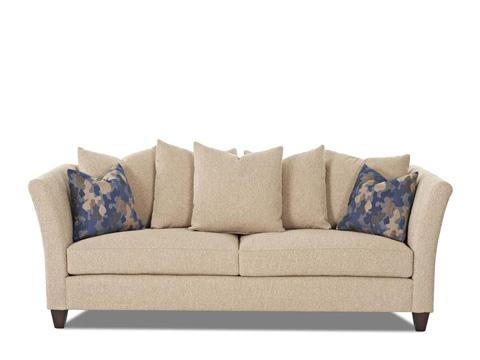 Klaussner Home Furnishings - St Andrew Loveseat - 37703P PWCRL