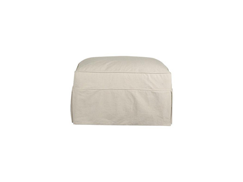 Klaussner Home Furnishings - Jenny Ottoman - D16100M OTTO