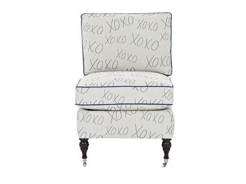 Klaussner Home Furnishings - Trisha Yearwood Trixie Chair - D660 AC