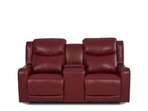 Image of Barnett Power Reclining Loveseat