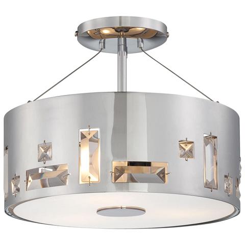 George Kovacs Lighting, Inc. - Bling Bang Semi Flush - P1091-077