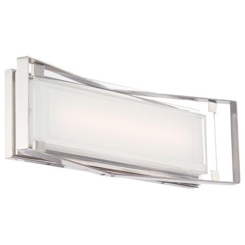 George Kovacs Lighting, Inc. - Crystal Clear LED Bath Sconce - P1183-613-L