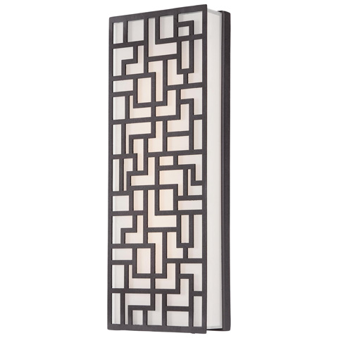 George Kovacs Lighting, Inc. - Alecia's Necklace LED Wall Sconce - P1222-287-L