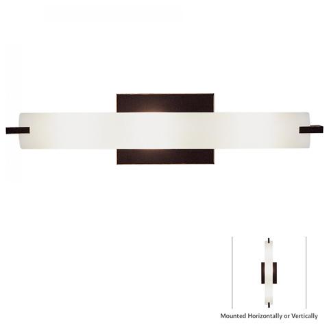 George Kovacs Lighting, Inc. - Tube Bath Wall Sconce - P5044-37B