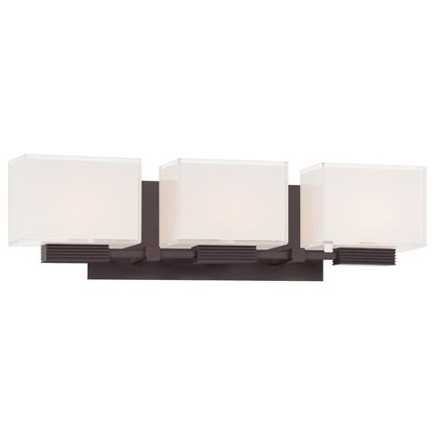George Kovacs Lighting, Inc. - Cubism Bath Wall Sconce - P5213-615B
