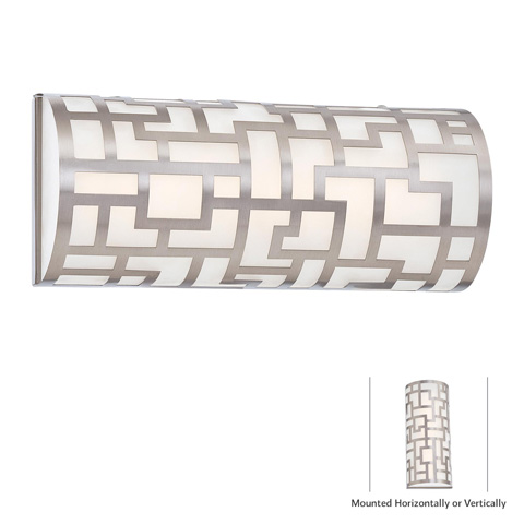 George Kovacs Lighting, Inc. - Alecia's Necklace LED Bath Wall Sconce - P5300-084-L