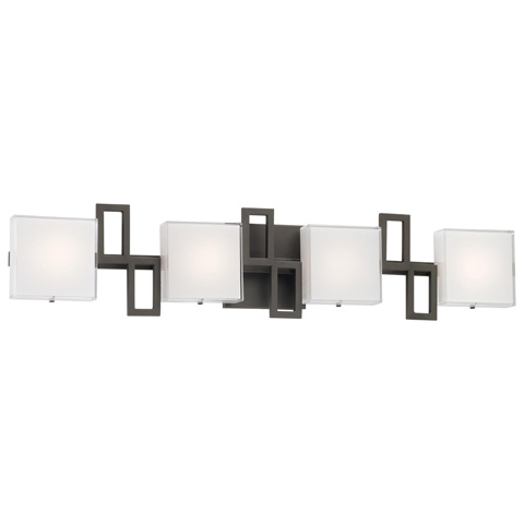 George Kovacs Lighting, Inc. - Alecia's Necklace LED Bath Wall Sconce - P5314-467B-L
