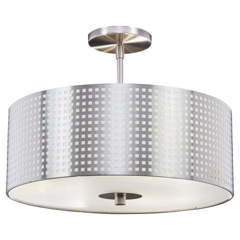 George Kovacs Lighting, Inc. - Grid Semi Flush - P5747-084