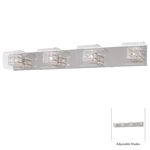 George Kovacs Lighting, Inc. - Jewel Box Bath Sconce - P5804-077