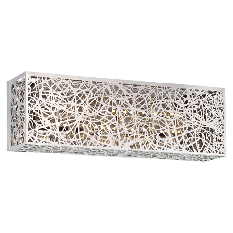 George Kovacs Lighting, Inc. - Hidden Gems LED Bath Sconce - P6982-077-L