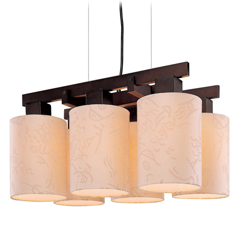 George Kovacs Lighting, Inc. - Kimono Chandelier - P8086-615
