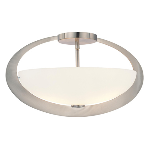 George Kovacs Lighting, Inc. - Earring Semi Flush - P907-084