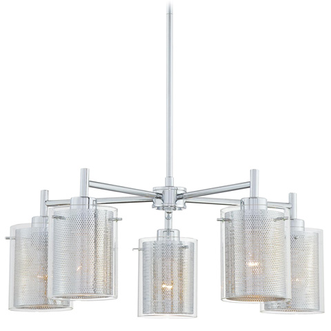 George Kovacs Lighting, Inc. - Grid Chandelier - P965-077