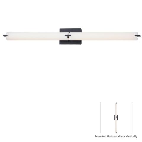 tube led bath fixture p5046 37b l george kovacs. Black Bedroom Furniture Sets. Home Design Ideas