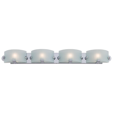 Image of Pillow Four Light Bath Fixture