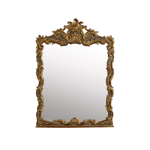 Image of Overscaled Baroque Mirror