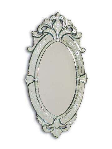 La Barge - Shaped Venetian Glass Mirror - LM2027