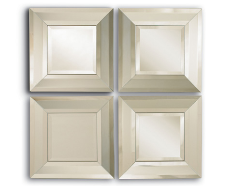 La Barge - Set of 4 Transitional Mirrors - LM2108