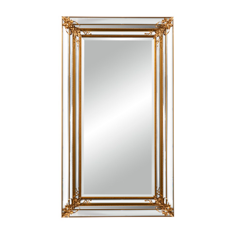 La Barge - Gold Finished Mirror - LM2503