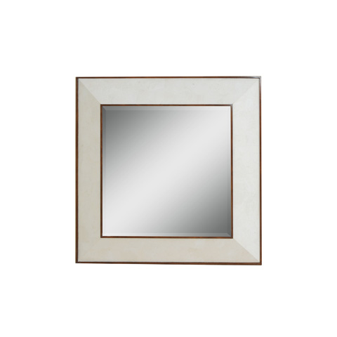 La Barge - White Agate Stone Inlaid Mirror - LM2507