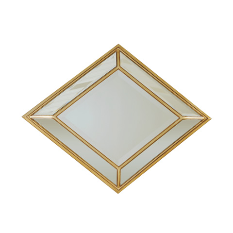 La Barge - Glendale Gold Finished Mirror - LM2518