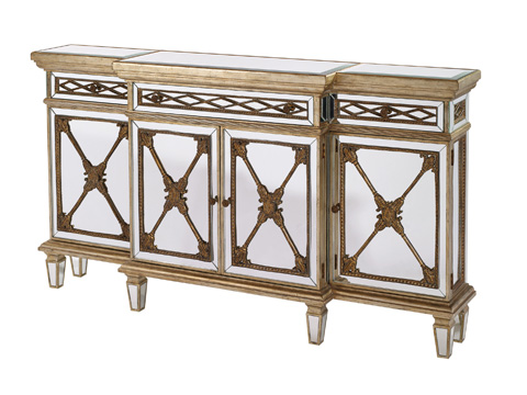 Image of Mirror Inlaid Console